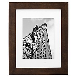 Malden® Gallery 8-Inch x 10-Inch Matted Wood Photo Frame