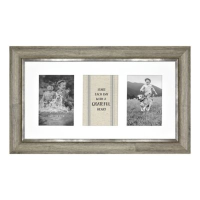3 Photo Barnwood Collage Frame by Bed Bath And Beyond