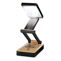 IdeaWorks Super Bright Portable 18-Light LED Lamp in Woodgrain