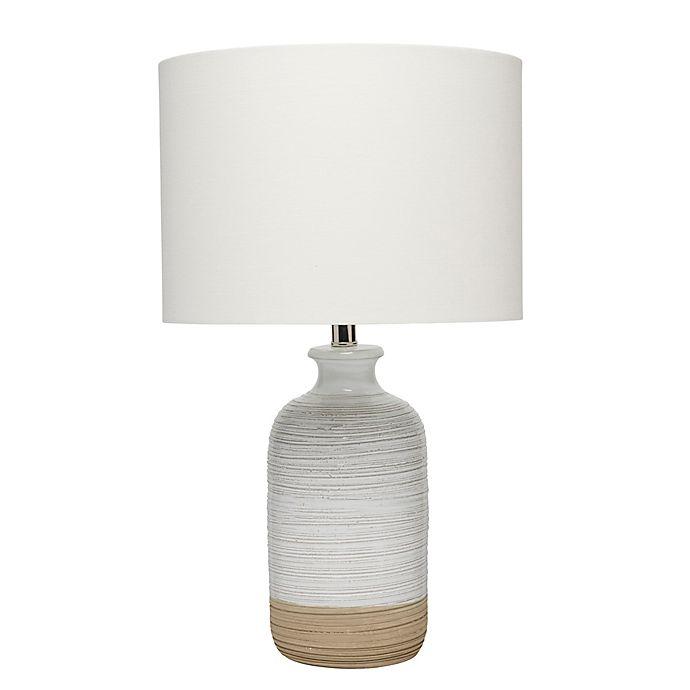 Alternate image 1 for Ashwell Table Lamp in White