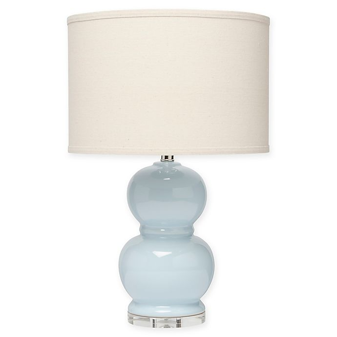 Bubble Table Lamp With Fabric Shade Bed Bath Beyond
