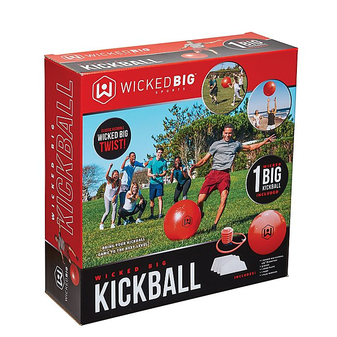 Alternate image 1 for Wicked Big Sports Kickball