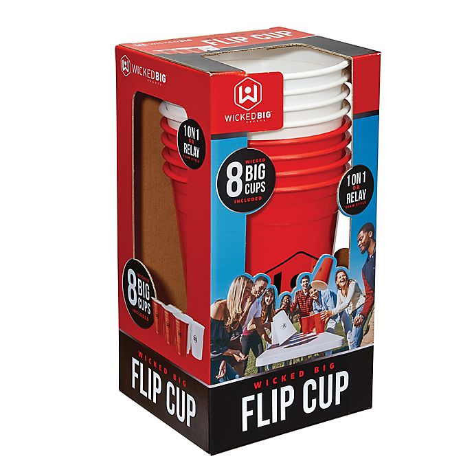 Alternate image 1 for Wicked Big Sports Flip Cup