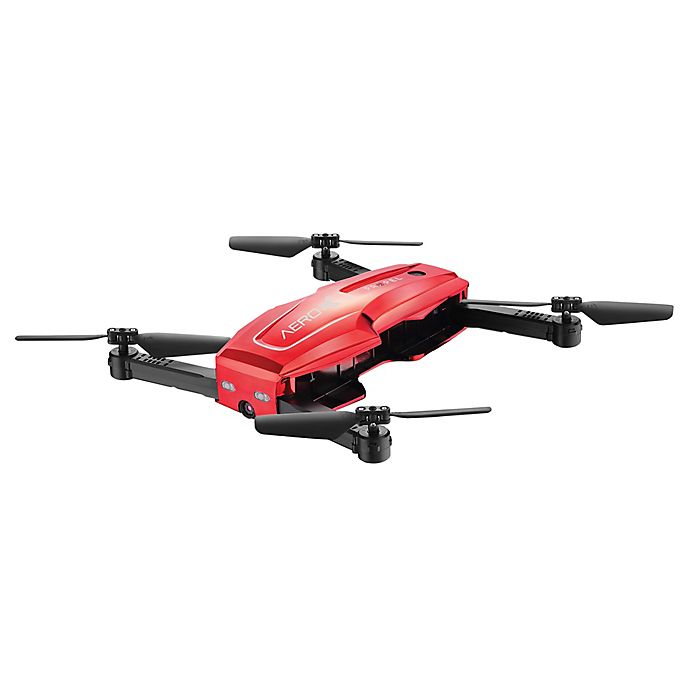 Alternate image 1 for Propel Switch Folding Drone in Red