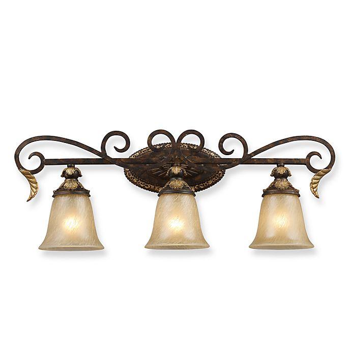 Alternate image 1 for ELK Lighting 3-Light Vanity Bar-Burnt Bronze