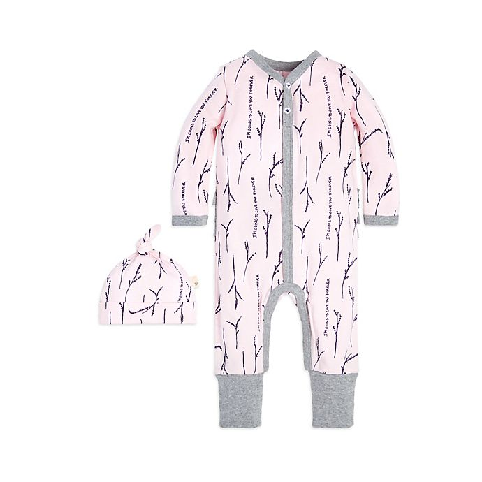 2fd8bd31bea9 Burt s Bees Baby® 2-Piece Love You More Organic Cotton Coverall and ...