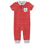 carter's® 18M Striped Dog Jumpsuit in Red