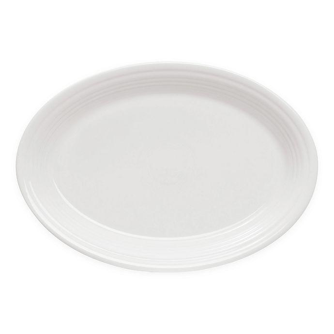 Alternate image 1 for Fiesta® 9.6-Inch Oval Platter in White