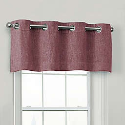 Quinn 100% Blackout Window Valance in Eggplant