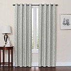 Quinn 84-Inch Grommet Top 100% Blackout Window Curtain Panel in Jadestone