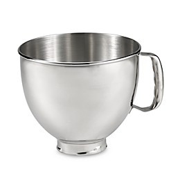 KitchenAid® 5 qt. Polished Stainless Steel Bowl with Handle