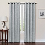 Quinn 84-Inch Grommet Top 100% Blackout Window Curtain Panel in Spa
