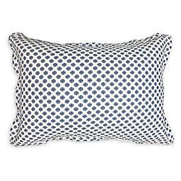 American Colors Cameron Alexander Medallion Standard Pillow Sham in Blue