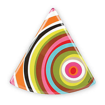French Bull® Ziggy Multicolor Circles Pie Plates (Set of 6)
