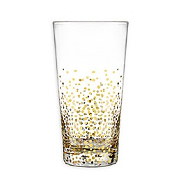 Fitz and Floyd® Luster Highball Glasses in Gold (Set of 6)