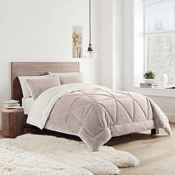UGG® Avery 2-Piece Reversible Twin/Twin XL Comforter Set in Desert Trail