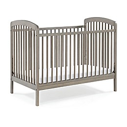 Baby Relax Addie 3-in 1 Convertible Crib in Grey