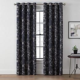 Brookstone® Harris Botanical Grommet 100% Blackout Window Curtain Panel