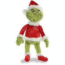 Aurora World® Grinch Santa Plush Toy