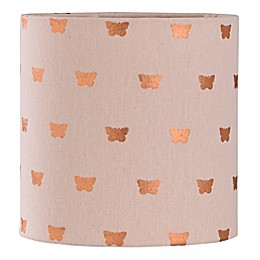 8-Inch Butterfly Lamp Shade in Light Pink