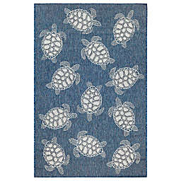 Liora Manne Carmel Sea Turtles Indoor/Outdoor Rug