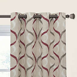 Lily Grommet Light Filtering Window Curtain Panel
