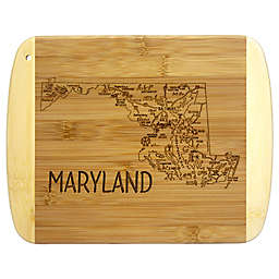Totally Bamboo® Maryland Slice of Life Cutting Board