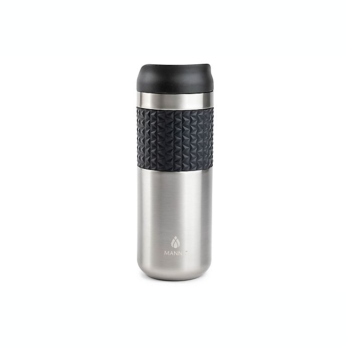 Alternate image 1 for Manna™ Mocha Grip 16 oz. Insulated Travel Mug