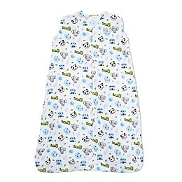 HALO® Animal Faces Muslin SleepSack® in Blue
