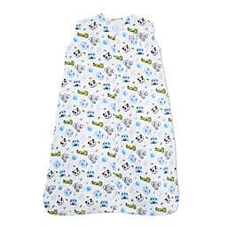 HALO® Small Animal Faces Muslin SleepSack® in Blue
