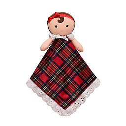 Little Me Little Me Xmas Security Blanket in Red