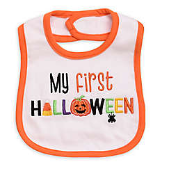 "Baby Starters® ""My First Halloween"" Embroidered Bib"
