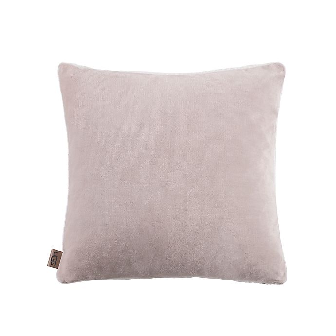 Alternate image 1 for UGG® Avery Solid Square Throw Pillow