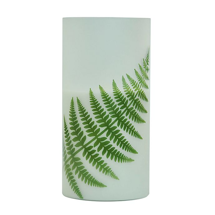 Alternate image 1 for Bee & Willow™ Home Fern 8-Inch LED Pillar Candle