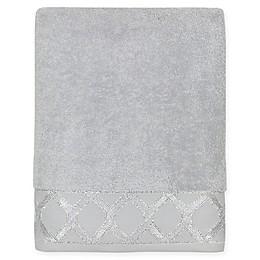 Croscill® Gwynn Bath Towel in Silver