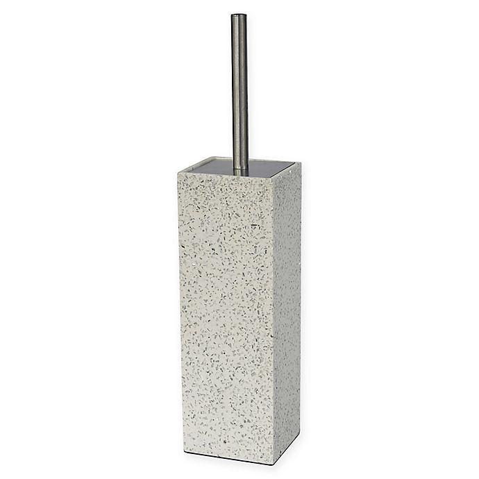 Alternate image 1 for Lifestyle Home Terrazzo Toilet Brush with Holder