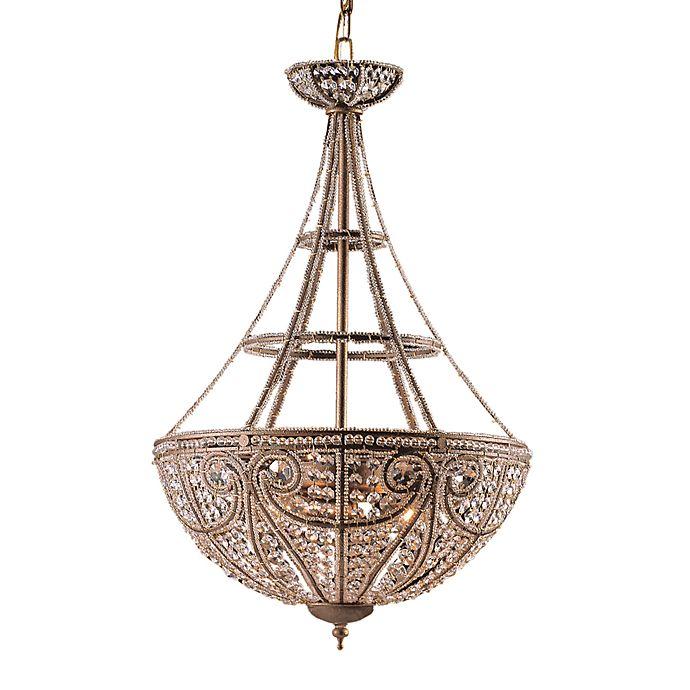Alternate image 1 for ELK Lighting 4-Light Pendant in Dark Bronze