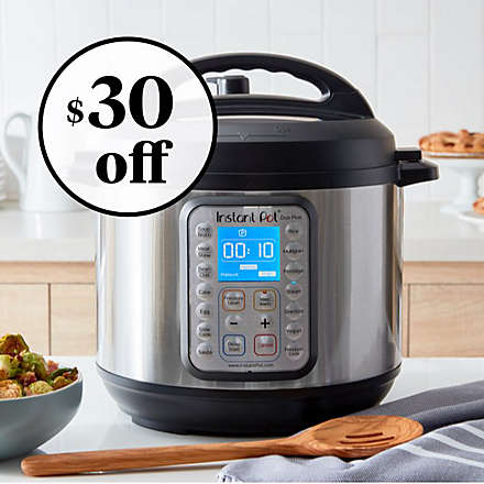 ee8396fdf7a Save on the Instant Pot Duo Plus 6qt. 9-in-1 Pressure Cooker