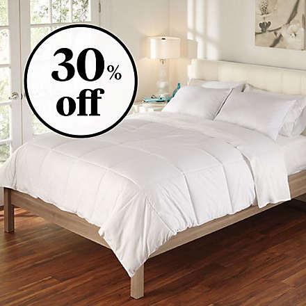 Brookstone® Outlast Down Comforter Deal. Shop Now