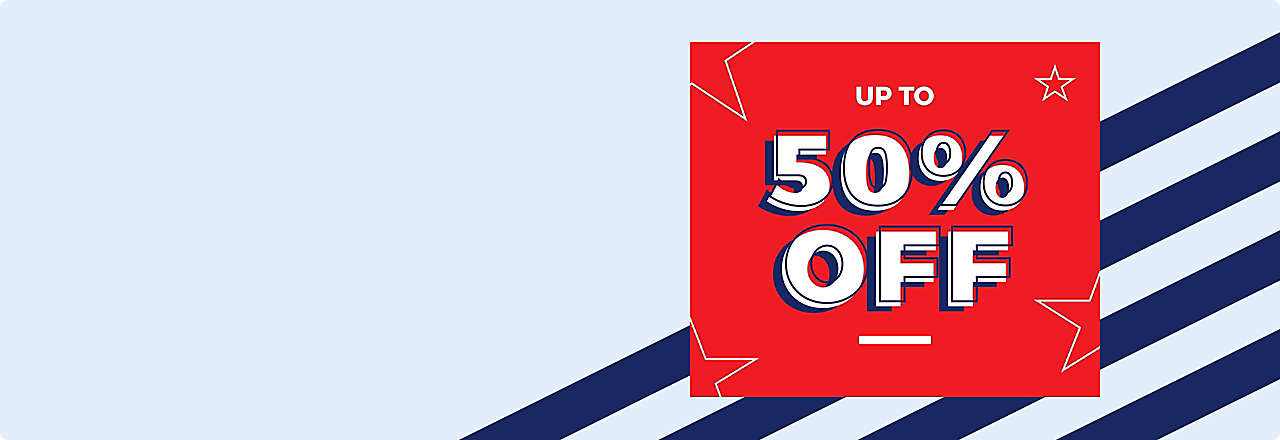 Memorial Day Deals Up to 50% off