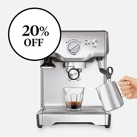 Save on the Breville® DuoTemp™ Pro Espresso Maker. Shop Now