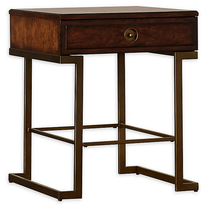 Stanley Furniture Mulholland Square End Table In Pecan Bed Bath