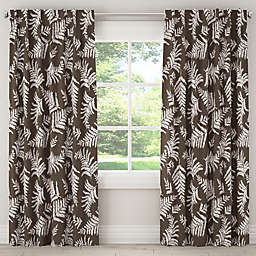 Skyline Furniture Fern Rod Pocket/Back Tab Window Curtain Panel