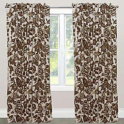 Skyline Furniture Canary Rod Pocket/Back Tab Window Curtain Panel