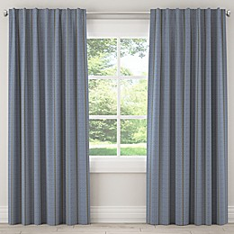 Skyline Furniture Broken Twill Rod Pocket/Back Tab Window Curtain Panel