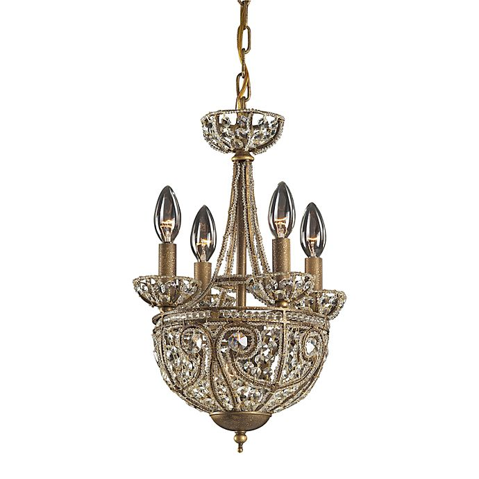 Elk Lighting Online: ELK Lighting Elizabethan 5-Light Chandelier In Dark Bronze