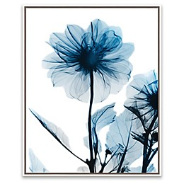 Sapphire Gleam II 21-Inch x 17-Inch Framed Wall Art