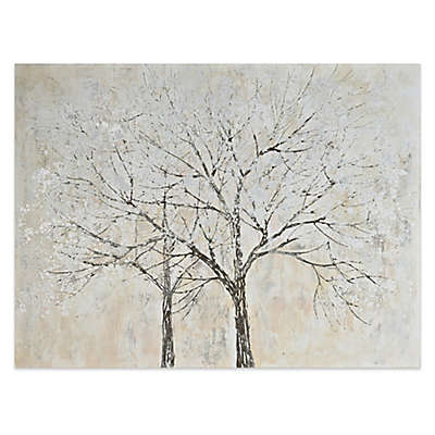 Renwil 70% Hand Painted Tree 36-Inch x 48-Inch Wall Art