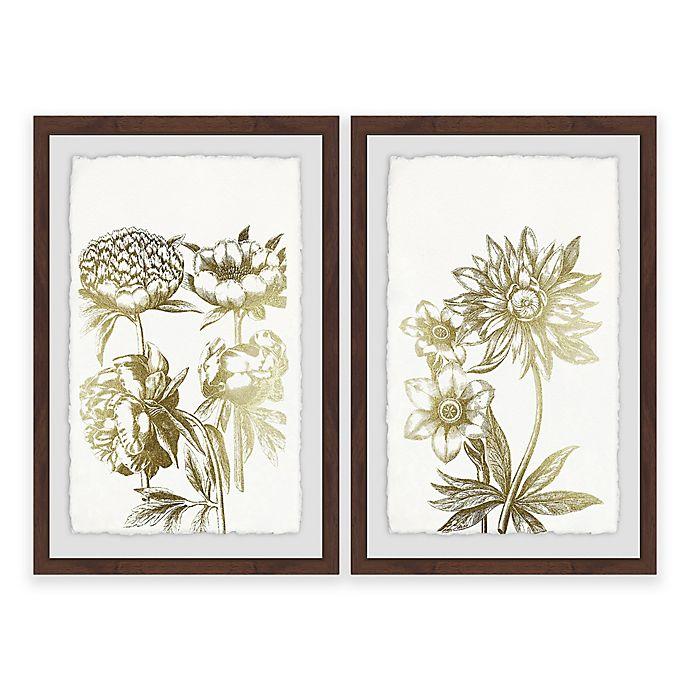 Alternate image 1 for Marmont Hill Desert Blooms II Framed Diptych Wall Art