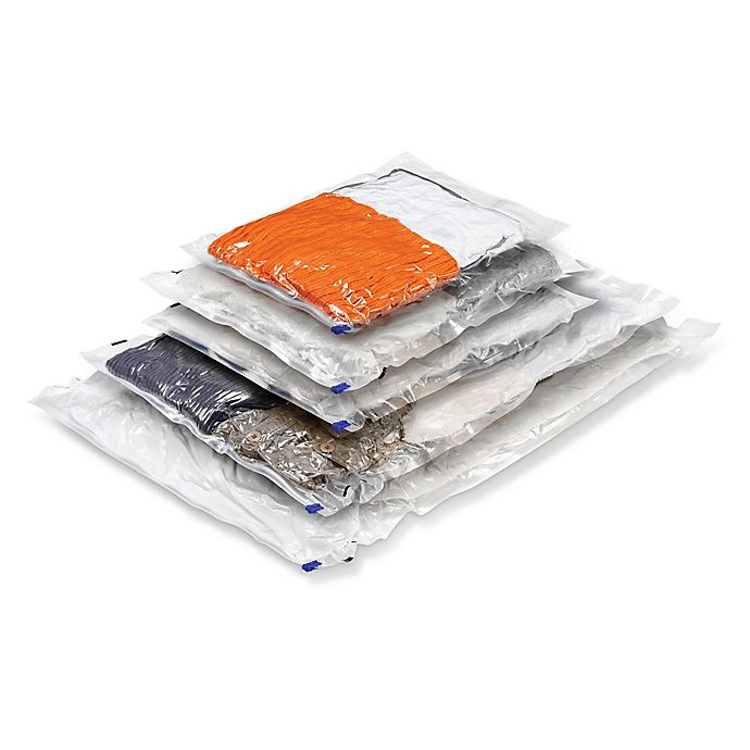 Alternate image 1 for Honey-Can-Do® 5-Count Vacuum Bags Combo Pack